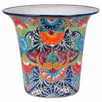 Flower Pots - talavera flower pots planters and mexican garden pottery