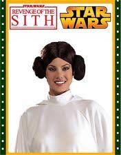 Princess Leia Halloween Costume Princess Leia Wig Ebay