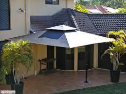 Backyard Umbrellas Teak Patio Furniture As Patio Umbrellas For Amazing Square Offset