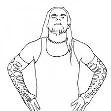 get this free wwe coloring pages 95741