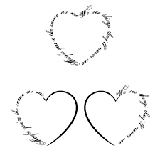 new mom heart and crown tattoo designs