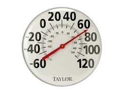 Patio Clock And Thermometer Sets by Amazon Com Taylor Precision Products Patio Thermometer 18 Inch