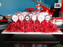 Fire Truck Nursery Decor by The Journey Of Parenthood Firetruck Party Decorations