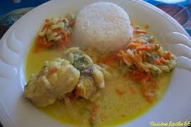 cuisiner la lotte au curry recette cuisine facile 66 lotte au curry crémé