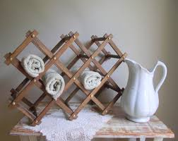 Antler Wine Rack by New To Gazaboo On Etsy Accordion Wine Rack Repurpose As A Spa
