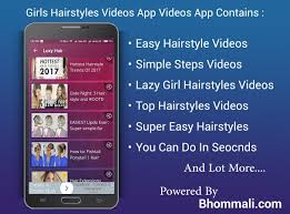 girls hairstyle videos app android apps on google play