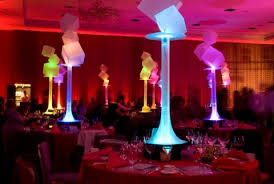 Glow In The Dark Party Decorations Ideas 5 Ideas For Led Light Centerpieces Wedding Bar U0026 Bat Mitzvah