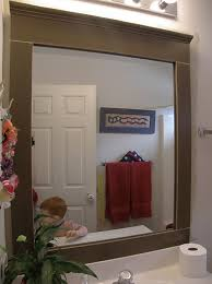 framed bathroom mirror ideas framed bathroom mirrors ideas home design ideas