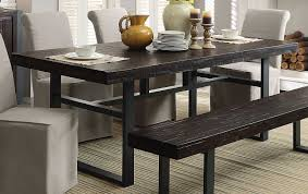 coaster keller rectangular dining table reclaimed wood 106941 at