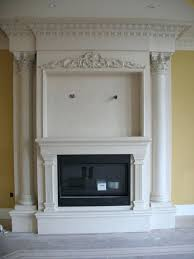 fireplace mantel decor diy ideas for fall with tv above lovely