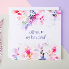 in bridesmaid card will you be my bridesmaid card by i am nat notonthehighstreet