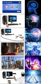 Ascended Meme - turn off computer by gt4tube meme center