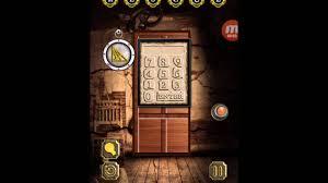 doors y rooms horror escape soluciones 100 door escape scary house level 2 youtube