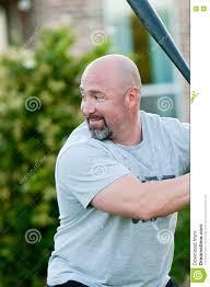 dad playing backyard baseball stock photo image 81497694