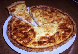 cuisine quiche cheese and bacon quiche food