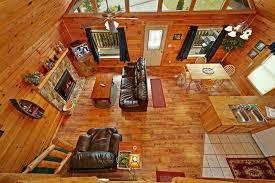 open floor plan cabins smoky mountains cabin rental 2 bedroom cabin