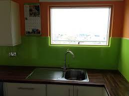 Green Kitchen Sink by Orange U0026 Lime Green Kitchen Glass Splashback By Creoglass Design