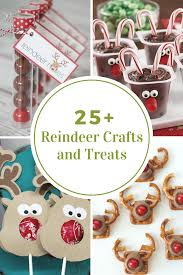 reindeer crafts and treats the idea room