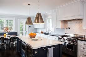 Kitchen Quartz Countertops by White Quartz Countertops Transitional Kitchen Tobi Fairley