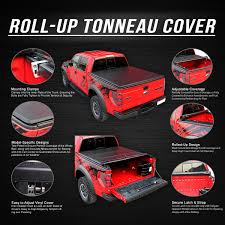 Ford Ranger Design 11 Ford Ranger Flareside 6 Ft Bed Soft Vinyl Trunk Roll Up Tonneau
