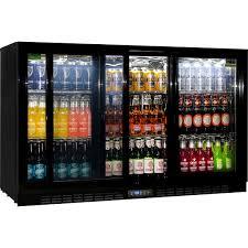 glass door commercial refrigerator sliding 3 glass door commercial energy efficient bar fridge