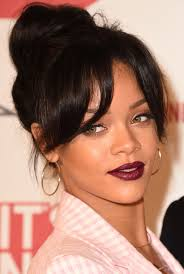 black hairstyles bun with bangs 13 cute and easy bun hairstyles best ideas for how to do a bun