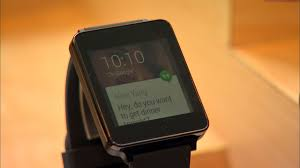 lg g smartwatch sports android wear ui and rectangular face