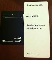 words against humanity cards cards against humanity i this