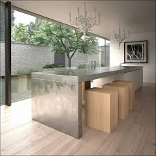 kitchen island with table extension kitchen granite island with attached table how to build a