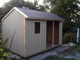 saltbox shed day eight
