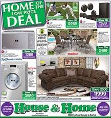 House  Home Catalogue Specials - House and home furniture catalogue