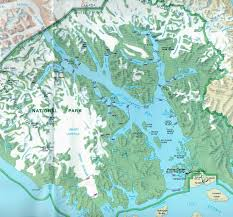 Wrangell Alaska Map by Cruise To Glacier Bay In South East Alaska Pictures Of Glaciers