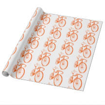 bicycle wrapping paper cycling wrapping paper zazzle