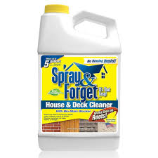 How To Remove Mold From Patio Cushions by Spray U0026 Forget 64 Oz House And Deck Cleaner Outdoor Mold Remover