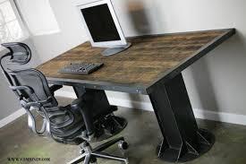 modern sit stand desk electric up down desk vintage