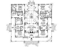hacienda style homes floor plans spanish style home plans two story style house plans one story