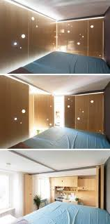 beleuchtung fã r schlafzimmer beleuchtung für das schlafzimmer mit aussicht auf der küche