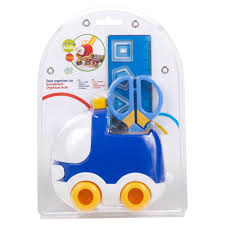 kids toy car stationery holder scissors ruler stickers art u0026 craft