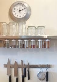 blukatkraft diy hanging magnetic spice rack storage