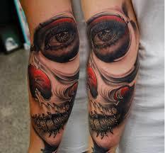 forearm skull tattoos tattoos