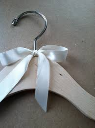personalized wedding ribbon ribbon bow for name hanger personalized wedding hanger several