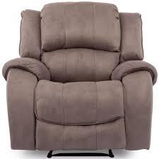 Recliner Chair Buy Vida Living Darwin Smoke Fabric Recliner Chair Cfs Uk