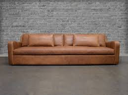 Chestnut Leather Sofa Julien Slope Arm Leather Sofa