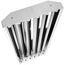 fluorescent high bay 6 lamp f54t5 ho 120 277 volt sun and