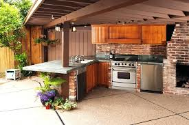 outdoor kitchen cabinet doors diy outdoor kitchen backsplash ideas and steps to consider to diy