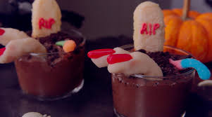american horror story graveyard chocolate pudding youtube