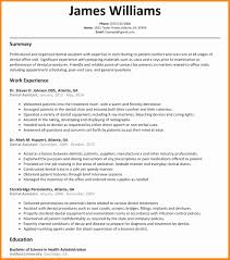 resume exles for dental assistants dental assistant resume sle awesome 5 dental assistant cv