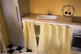 rideau placard cuisine étourdissant rideau placard cuisine avec mettre un rideau sur meuble