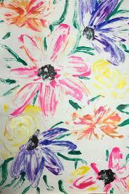 Flower Designs On Paper Monotype Printmaking U2014 The Lemon Collective