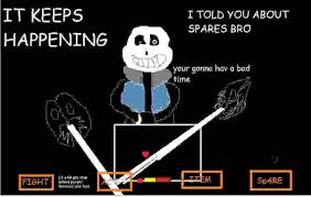 You Re Gonna Have A Bad Time Meme Generator - sweet sans you re gonna have a bad time know your meme